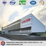 Быстрый построен современный дизайн большой стальной конструкции выставочного зала