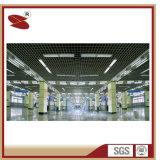 중국 도매 분말 외투 방습 예술적인 알루미늄 열려있는 격자 중단된 천장 도와