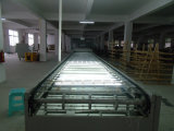 Équipement de bureau Panneau d'affichage à projection magnétique en verre trempé