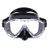 Máscara desobstruída adulta do mergulho Snorkeling da visão