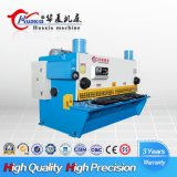 Máquina de estaca hidráulica da guilhotina CNC12X6000 de QC11K com controle MD11