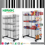 Wire Mesh Panier promotionnel empilable