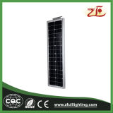 40W 통합 태양 가로등 LED 가로등