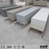 Feuille extérieure solide acrylique de texture de marbre artificielle de configuration