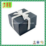 Rectángulo de regalo de lujo modificado para requisitos particulares colorido del papel de la cartulina
