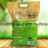 Tofu-Katze-Sänfte-grüner Tee - Flushable und Aufhäufung