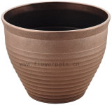Textura de metal Flower Pot (KD9452K-KD9454K)
