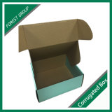 Caja de papel de alto grado azul