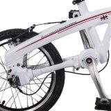 """20の""""インチのFoldableバイク16inch Shimano 3の速度の軽量のシャフトドライブの電気折る自転車は女性の大人のために証明した"""