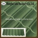 Linea di produzione d'acciaio rivestita di pietra delle mattonelle di tetto