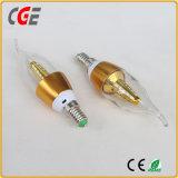 Bombilla LED de alta calidad luz de vela 3W/5W/7W/9W Las lámparas LED
