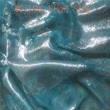 Lurex Tecido Chiffon de seda, Seda Lurex Ggt Fabric, Lurex Georgette tecido de seda