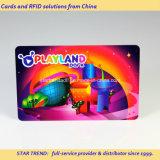 Cartão magnético da impressão recarregável para parques de diversões