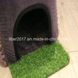 Piccola base della gabbia del gatto del cane della Camera dell'animale domestico del fornitore grigio