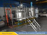 tanque 304/316L de mistura inoxidável do aço 1000L com a bobina Jacketed