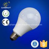 3-15W A60 A70 플라스틱 알루미늄 LED 전구