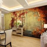 Le plus défunt papier peint à la mode de coutume, libèrent l'impression parfaite de peintures murales de mur de qualité de modèle