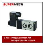 Airtac vorbildlicher Verbindungstyp pneumatischer Magnetventil 24V Gleichstrom der Platten-4m210-08 220 Volt