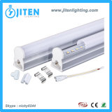 LED T5 관 빛 8W 60cm 840lm 투명한 덮개