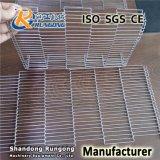 工場ステンレス鋼の平らな屈曲の金網のコンベヤーベルト