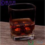 De in het groot Schijf van de Wisky van het Roestvrij staal van de Steen van de Whisky van de Vorm van de Bal van het Staal van de Toebehoren van de Staaf