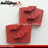 Высокое качество Китай алмазные шлифовальные пола конкретные пластины