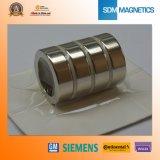 De concurrerende Magneet van de Schijf van het Neodymium van de Zeldzame aarde N48m