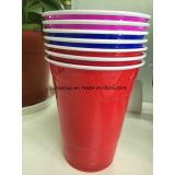 당 컵 또는 도매 플라스틱 PP/PS 빨강 컵