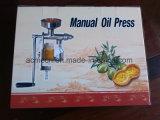 Prensa de petróleo manual del cacahuete del sésamo de la fuente de las existencias de la fábrica mini y del germen de las tuercas