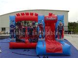 Het commerciële Opblaasbare Springen Bouncy met Dia, Opblaasbare Combo