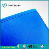 Sacchetto non tessuto blu del regalo