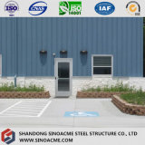 Sinoacmeは鉄骨構造の記憶の小屋の建物を組立て式に作った