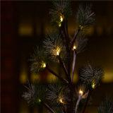 Operado a bateria 60cm24LED LED Pine Tree para a Sala de Estar/Quarto/Decoração de férias
