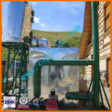 Автомобиле от перекрестка серии грязных моторного масла пиролиз отработанного масла для дизельных двигателей Distiller