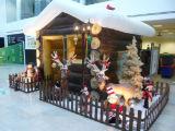 Camera gonfiabile della Santa per la celebrazione di natale