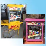 Máquina elétrica da chaleira da pipoca de uma alta qualidade comercial de 8 onças com carro da roda