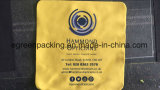 Изготовленный на заказ ткань чистки Microfiber желтого цвета логоса