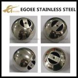 Balle miroir en acier inoxydable en acier inoxydable pour main courante