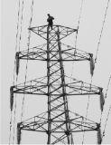110kv 132kvの鋼鉄タワー