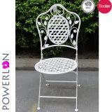 옥외 가구 철 접는 의자