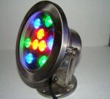 304 indicatore luminoso sotterraneo dell'acciaio inossidabile IP67 RGB LED LED Inground