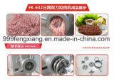 Máquina para picar carne doble vertical Fk-632, congelando, máquina de picar carne de la carne fresca