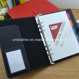 Изготовленный на заказ роскошная кожаный тетрадь дневника для офиса