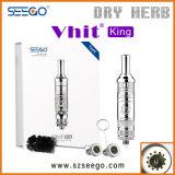 Le vaporisateur sain Seego V-A heurté le Roi Herb Pen E Cigarette avec le système de filtration