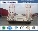 Сверхмощные 60 низкого кровати трейлера тонн трейлера тележки Semi