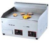 Производитель питания стола плоская пластина из нержавеющей стали гриль / сковороде растительное масло