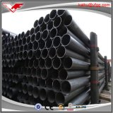 Tubo de acero soldado estructura soldado ERW del negro de carbón