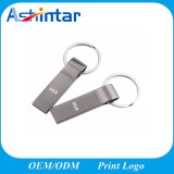 소형 열쇠 고리 USB 기억 장치 지팡이 금속 USB 섬광 드라이브