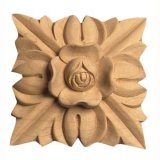 Scultura di legno della decorazione della mobilia per il francese