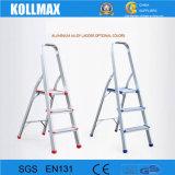 7つのステップ梯子のホーム使用の安い梯子を折る簡単なアルミニウム